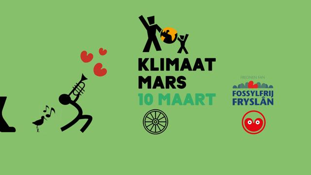 Friezen in bussen naar Klimaatmars Amsterdam