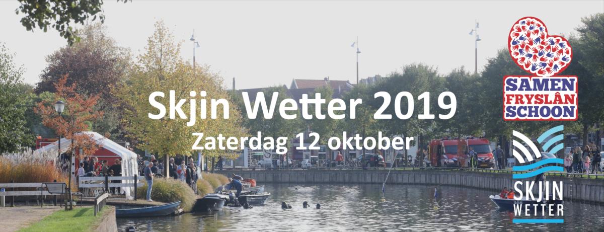 Grote schoonmaakactie Skjin Wetter op zeven locaties in Fryslân