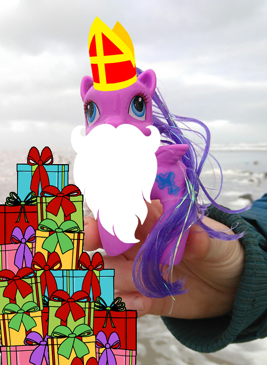 Hulde aan de Recycle Sinterklaas