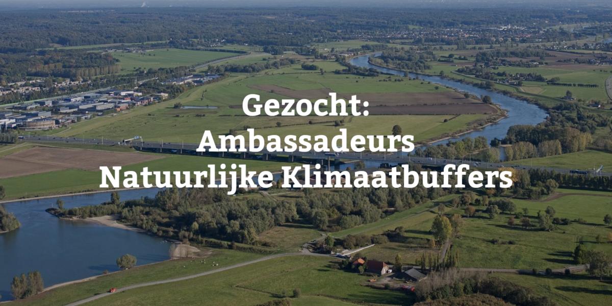Ambassadeurs Klimaatbuffers gezocht