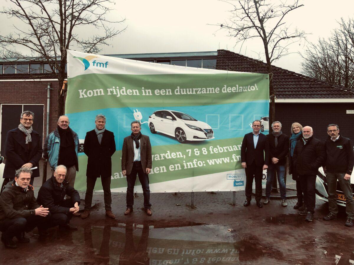 Deelauto's veroveren Leeuwarder wijken en organisaties