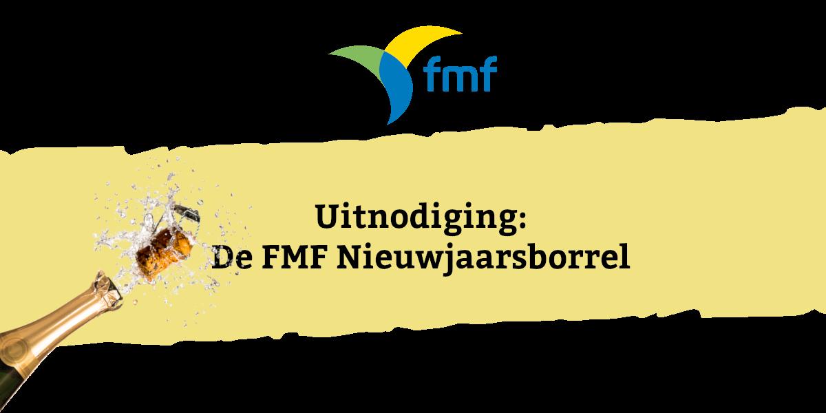 Uitnodiging: de FMF Nieuwjaarsborrel