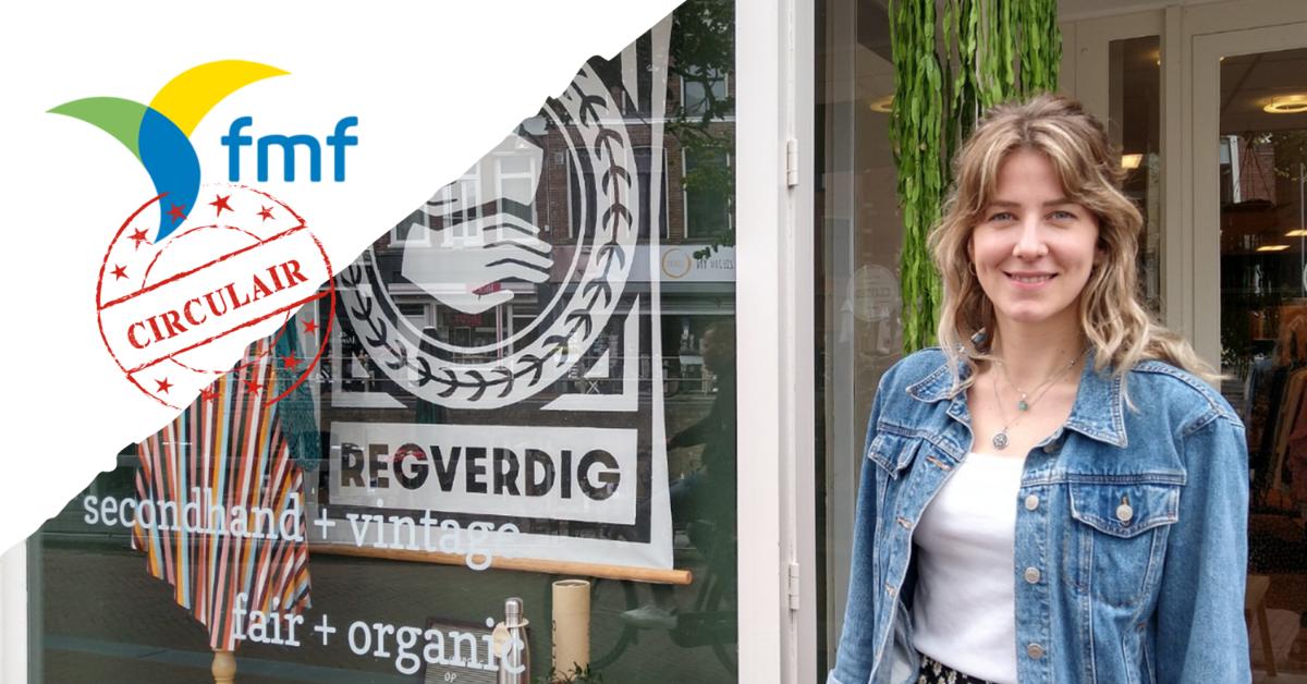 Duurzame doener: Julia Visser probeert het simpel te houden