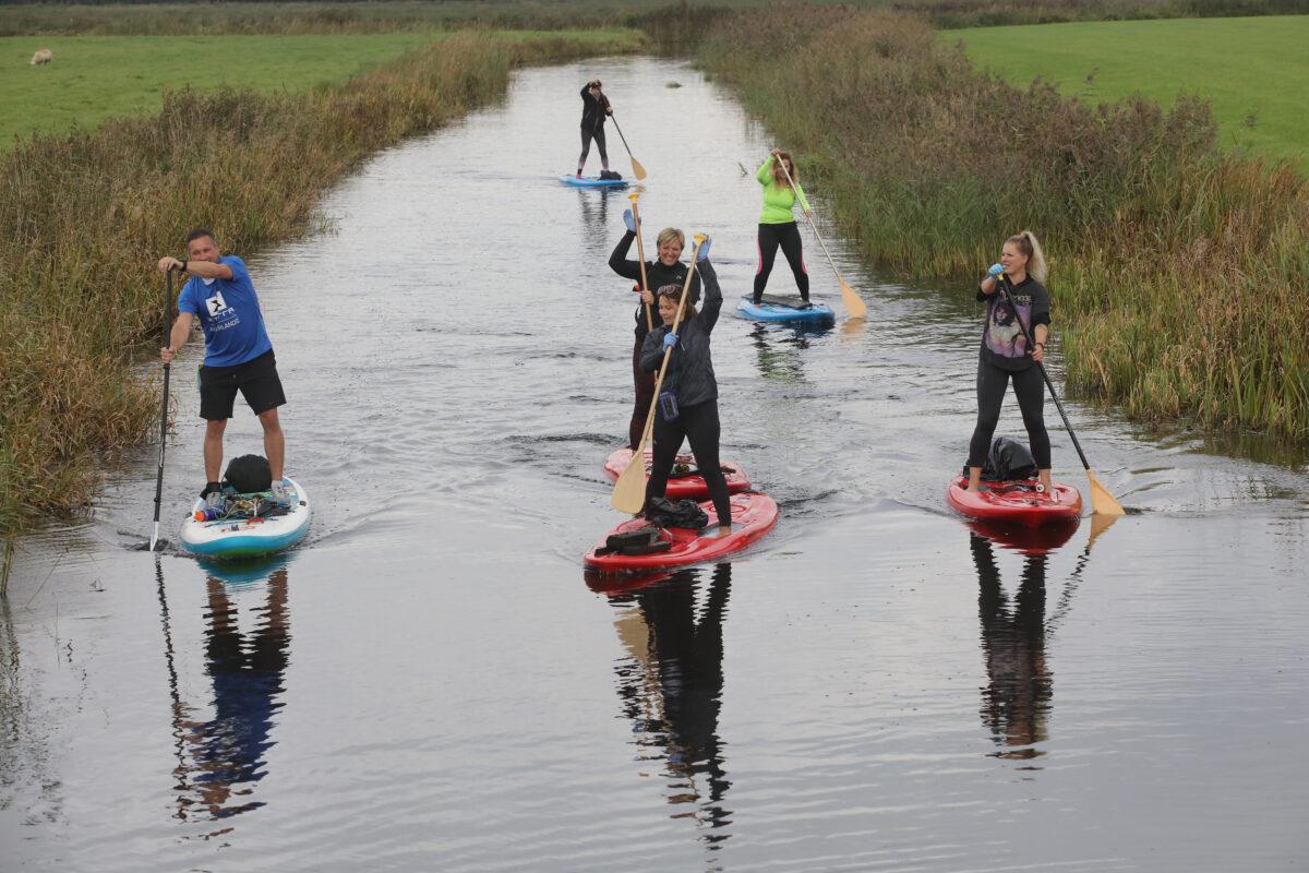 Ruim 650 kilometer aan Friese wateren opgeruimd tijdens Skjin Wetter