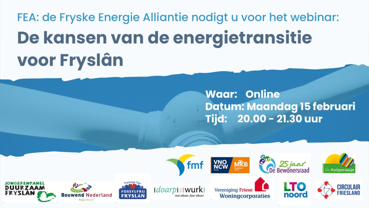 Uitnodiging: De kansen van de energietransitie voor Fryslân