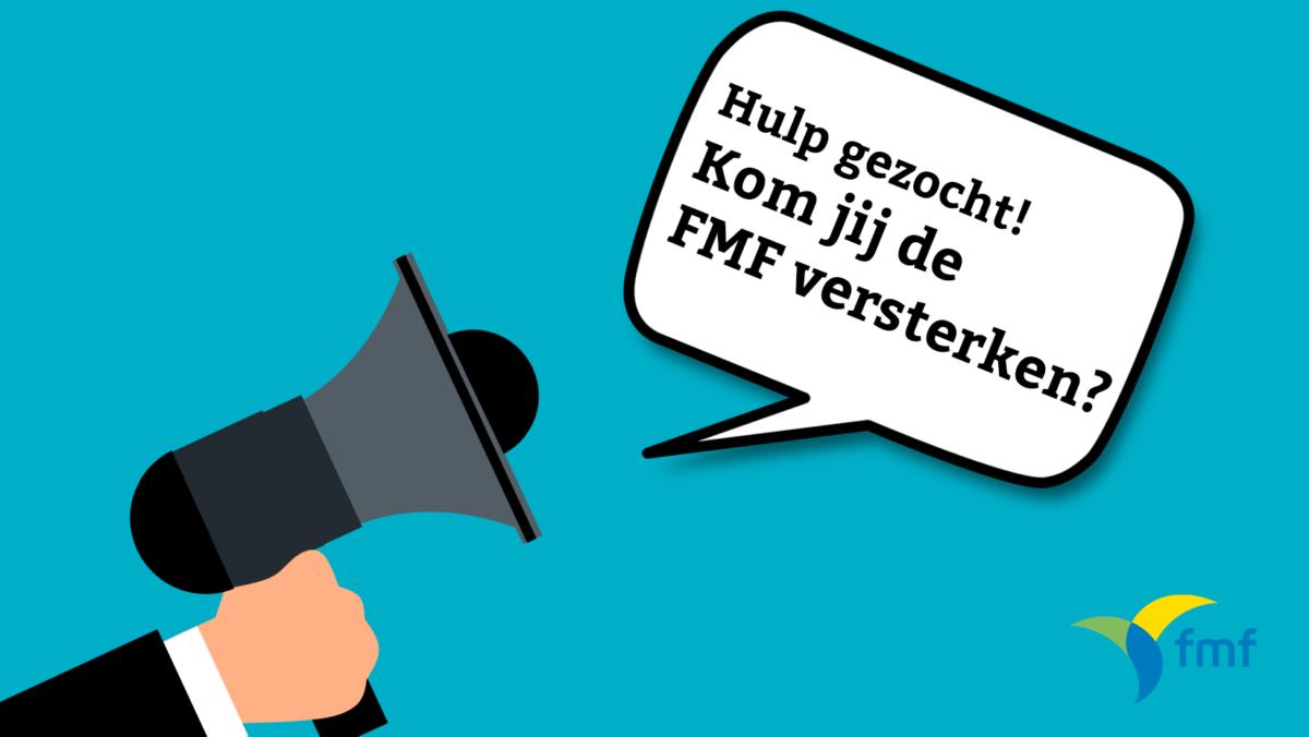 Word vrijwilliger bij de FMF!